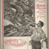 Revista RASBOIUL POPOARELOR - primul razboi mondial, nr.5 / 1914, cu ilustratii