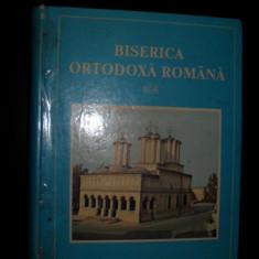 Biserica Ortodoxa Romana, (monografie album) Tiparit cu aprobarea preafericitului parinte TEOCTIST Antonie Plamadeala, 1987 - Carti ortodoxe
