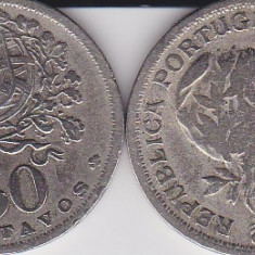 PORTUGALIA 50 CENTAVOS 1947, Europa