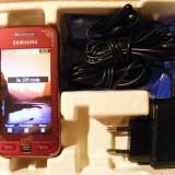 VAND SAU SCHIMB NOKIA 306 RED SI SAMSUNG LA FLEUR - Telefon Nokia, Rosu, Neblocat, Touchscreen, 3.2 MP, Micro SD