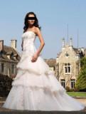 Rochie de mireasa casa Divina Sposa, model Oliastra, marime S-M