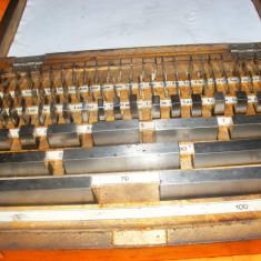 Set de placi de calibrare de otel, calibroare, scule vintage, SCULE PERFORMANTE, SCULE DE PRECIZIE