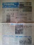 Gazeta Sporturilor , marti 26 noiembrie 1991 - aricol rugby
