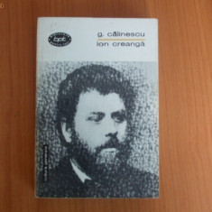 d6 George Calinescu - Ion Creanga