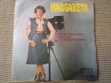 """MARGARETA PASLARU disc single 7"""" vinyl muzica usoara melodii maine / noi doi"""