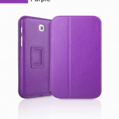 Husa Executive Case Piele Naturala Samsung Galaxy Tab3 P3200 by Yoobao Originala Purple - Husa Tableta
