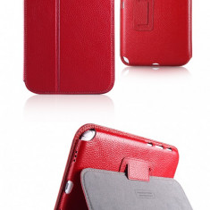 Husa Executive Case Piele Naturala Samsung Galaxy Note 8.0 N5100 by Yoobao Originala Red - Husa Tableta