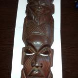 totem masca african original
