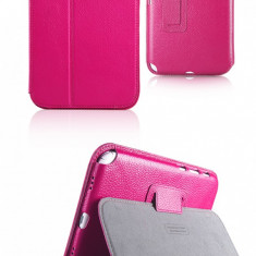 Husa Executive Case Piele Naturala Samsung Galaxy Note 8.0 N5100 by Yoobao Originala Pink - Husa Tableta