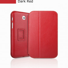 Husa Executive Case Piele Naturala Samsung Galaxy Tab3 P3200 by Yoobao Originala Red - Husa Tableta