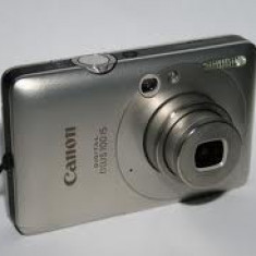 canon ixus 100 is argintiu+card memorie 4gb,