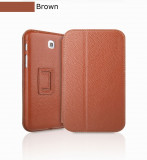 Husa Executive Case Piele Naturala Samsung Galaxy Tab3 P3200 by Yoobao Originala Brown