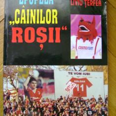 Nelu Pop si Liviu Terfea - Epopeea Cainilor Rosii Dinamo Bucuresti Romania 1948 fotbal echipa football tifosi Stefan cel Mare stadion red dogs