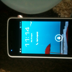 Vodafone smart mini, nou in cutie, impecabil - Telefon mobil Vodafone, Alb, Neblocat, Smartphone, Touchscreen, Android OS