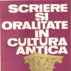 Andrei Cornea-Sriere si oralitate in cultura antica - Studiu literar