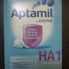 APTAMIL HA 1, 600 g, 0-6 luni - Lapte praf bebelusi Milupa, De la 0 luni