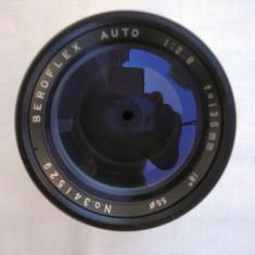 Obiectiv foto Beroflex 2, 8/135 filet de 42 - Obiectiv DSLR Beroflex, Tele, Manual focus