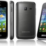 Vand smartphone SAMSUNG WAVE Y - Telefon Samsung, Negru, 8GB, Neblocat, Touchscreen