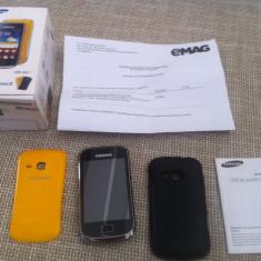 SAMSUNG GALAXY MINI 2 LIBER DE RETEA GARANTIE+HUSA CADOU!!!!!! - Telefon mobil Samsung Galaxy Mini 2, Negru, Neblocat