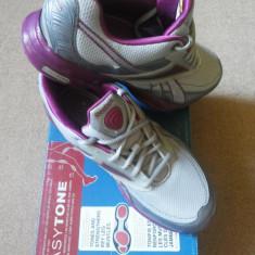 Adidasi Reebok Easytone Reeinspire - 190 lei - Adidasi dama Reebok, Culoare: Gri, Marime: 37, Gri