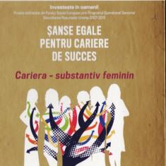 SANSE EGALE PENTRU CARIERE DE SUCCES. CARIERA – SUBSTANTIV FEMININ