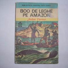 JULES VERNE - 800 DE LEGHE PE AMAZON,rf3/1