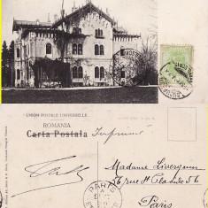 Palatul Printului Stirbey la Buftea (Bucuresti) - clasica, TCV