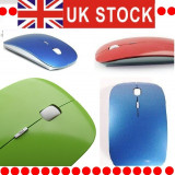 Mouse Optic 2.4GHz mouse Slim USB, Wireless, Optica, 1000-2000