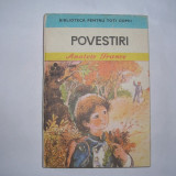 POVESTIRI - ANATOLE FRANCE, RF3/1 - Carte educativa