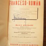 MARIU SAINEANU - DICTIONAR FRANCESO - ROMAN, 1897 (francez - roman) - Carte veche