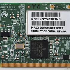 PLACA WIRELESS LAPTOP MINI PCI BROADCOM BCM94318MPG