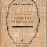 George Calinescu-Aforisme si reflectii