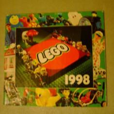 Album anual Revista Lego anul 1998 seturi teme colectii RAR