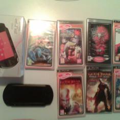 PSP Sony e1004+cutie+7joc.org.+card