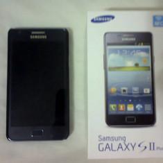 Samsung Galaxy S2 Plus-Blue - Telefon mobil Samsung Galaxy S2 Plus, Albastru, Neblocat