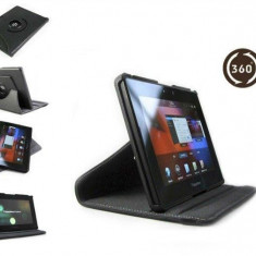 "Husa rotativa 360 Blackberry Playbook 7 7"" + casti"