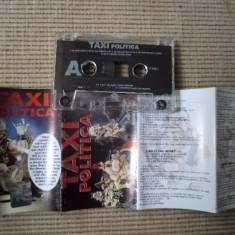 Taxi politica album caseta audio muzica pop rock mapa texte Cat Music 2004, Casete audio