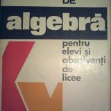 N. Ghircoiasiu - Fise de algebra pentru elevi si absolventi de licee - Manual scolar