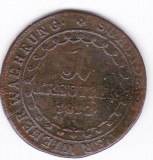 Austria,Ungaria,1 kreuzer kreutzer 1812 S,Szomolnok-Schmolnitz, Europa