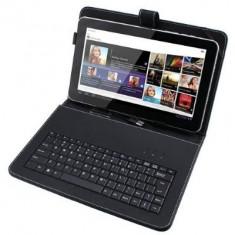 Husa cu tastatura USB MINIUSB MICROUSB pentru tablete 10.1 inch - Husa tableta cu tastatura