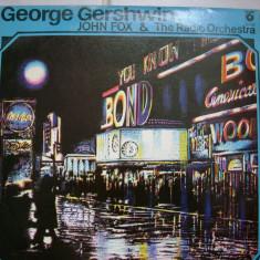 George Gershwin John Fox & The radio Orchestra - Muzica Blues, VINIL
