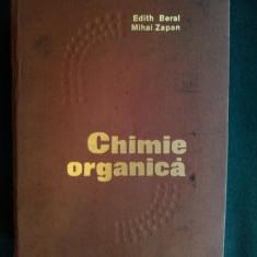 Chimie organica E. Beral, Z. Mihai Ed. Tehnica 1973, Editia a V - a - Carte Chimie