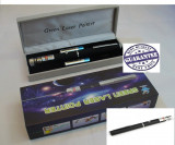 LASER - Verde 500 mW 532nm + Cutie pentru depozitare + 2 baterii + CAP 3D -