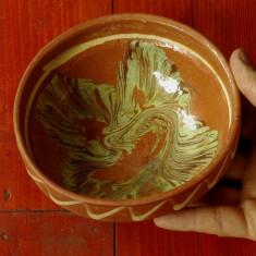 Arta populara romaneasca - Blid / Strachina / Farfurie realizata din lut !!!!! - Arta Ceramica