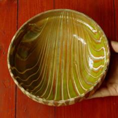 Arta populara din Transilvania - Corund / Korund - Farfurie / Srachina din lut ! - Arta Ceramica
