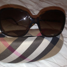 Ochelari de soare Burberry, Femei, Maro, Patrati, Plastic