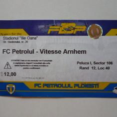 Bilet meci fotbal PETROLUL PLOIESTI - VITESSE ARNHEM (Europa League)