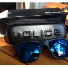 Ochelari de Soare - Ochelari de soare Police, Albastru, Plastic