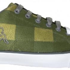 43_Tenisi Kappa_verde_tenisi barbati_adidasi kappa_panza_in cutie, Textil