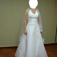 Rochie de mireasa - model White Lady (alb), Rochii de mireasa printesa